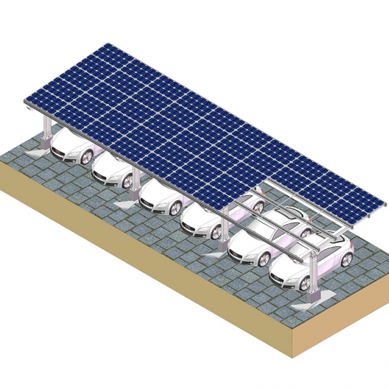 commercial Solar Carport Mounting Structure