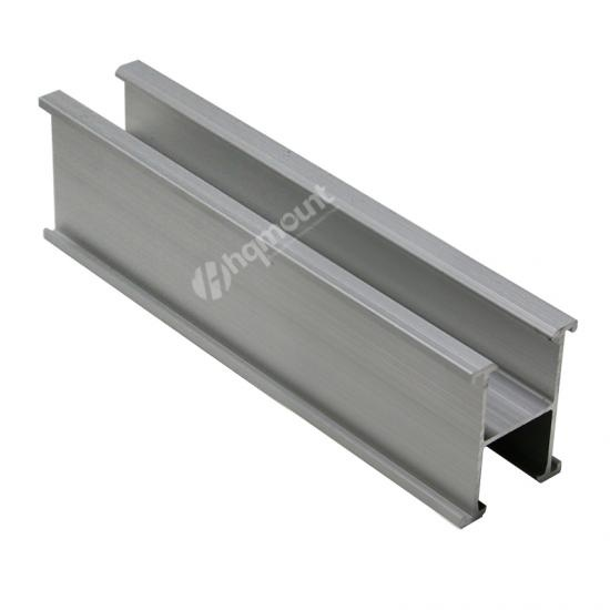 Solar Panel Rail,solar mounting rail, Aluminium roof rail